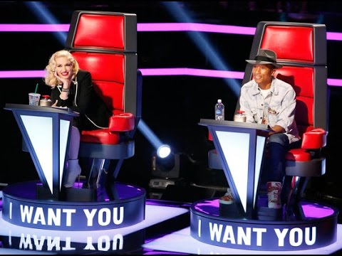 Gwen Stefani and Pharrell Williams Make Their Debut on The Voice, Watch how they did!