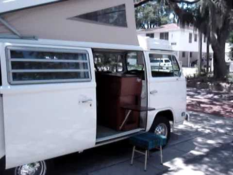1974 VW Bus Westfalia Camper Westy w/ AC - TOUR