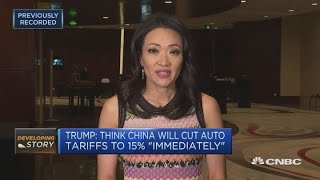 Trump linking China trade talks with investigation into Huawei CFO | Squawk Box Europe