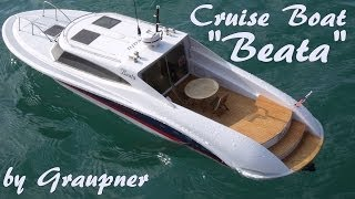 "CVP - RC Cruise Boat ""Beata"" by Graupner"