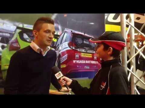 Autosport Show 2015 - BTCC Championship Colin Turkington