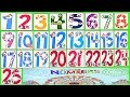 Learn Numbers Kids Count 1 2 3 4 5 6 7 8 9 10 11 12 13 14 15 16 17 18 19 20 21 22 23 24 25 Preschool mp3