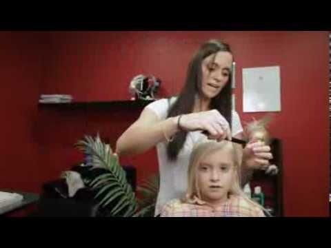 Kid's Hair Tips - Loopy Reverse Side Braid Ponytail