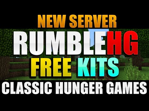RumbleHG   New Hunger Games Server   Free Kit Announcement!