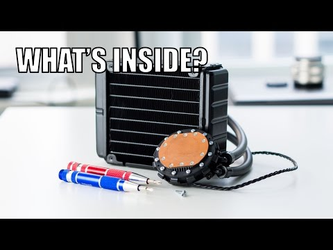 What's Inside a CPU Liquid Cooler (Closed Loop) Teardown