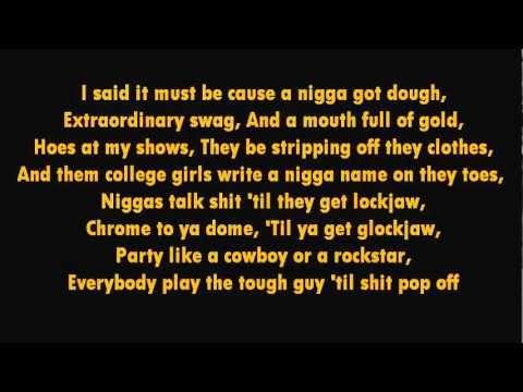 A$AP Rocky - Goldie Lyrics