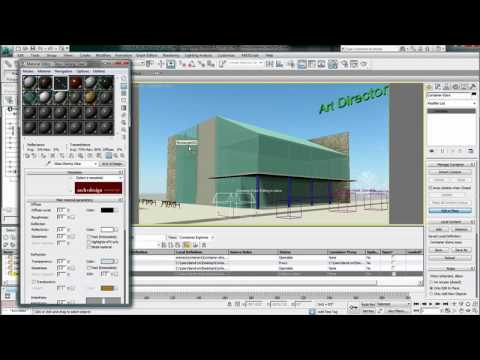Local Edits to Containers — 3ds Max Design 2011 New Features