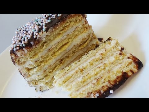Торт без выпечки  из 3- х ингредиентов за 5 минут!!!