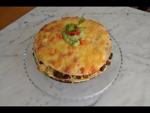 غذای مکزیکی (Tortilla cake)