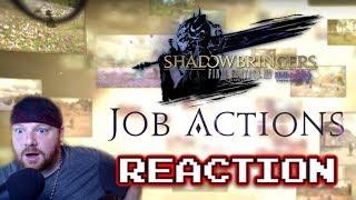 FFXIV Shadowbringers Job Actions - Krimson KB Reacts