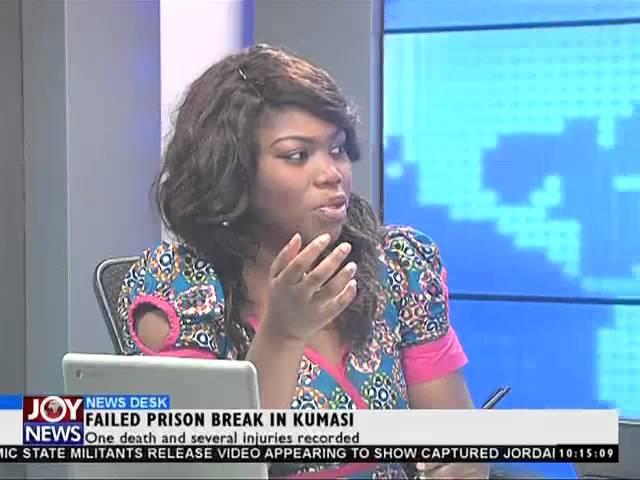 Failed Prison Break in Kumasi - News Desk (5-2-15)