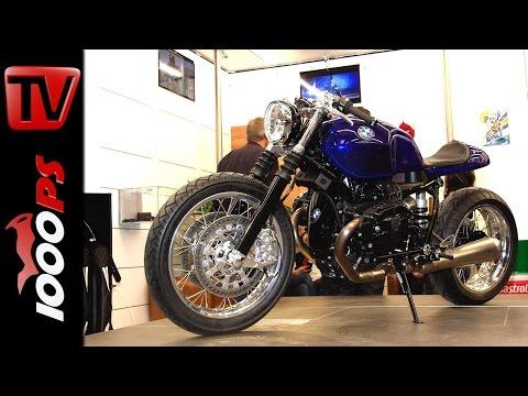 BMW R nine T Caf� Racer Stockholm Syndrom @ Custombike Show 2014