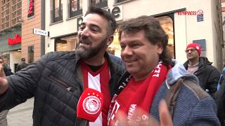 Το Olympiacos TV στο κέντρο του Μονάχου! / Olympiacos TV in the center of Munich!