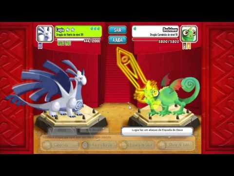 Dragon city - Lugia malvado