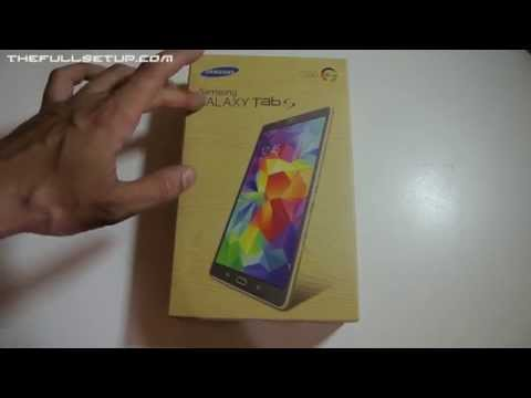 Samsung Galaxy Tab S 8.4 LTE Unboxing
