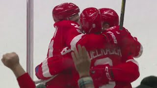 Gotta See It: Red Wings' Larkin with a sensational pass to set up easy Abdelkader goal