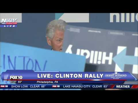 FULL: Bill Clinton Responds To Black Lives Matter Protesters With Hard Facts
