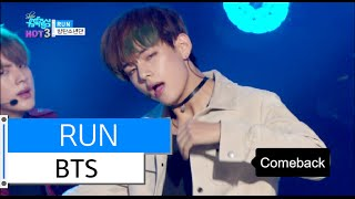 [HOT] BTS - RUN, 방탄소년단 - 런, Show Music core 20151205
