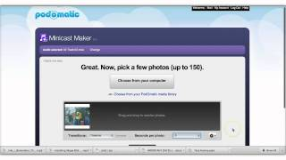 Creating a Digital Story with Podomatic