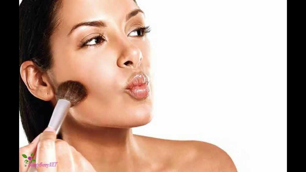 Как с помощью макияжа сделать лицо худее фото 108