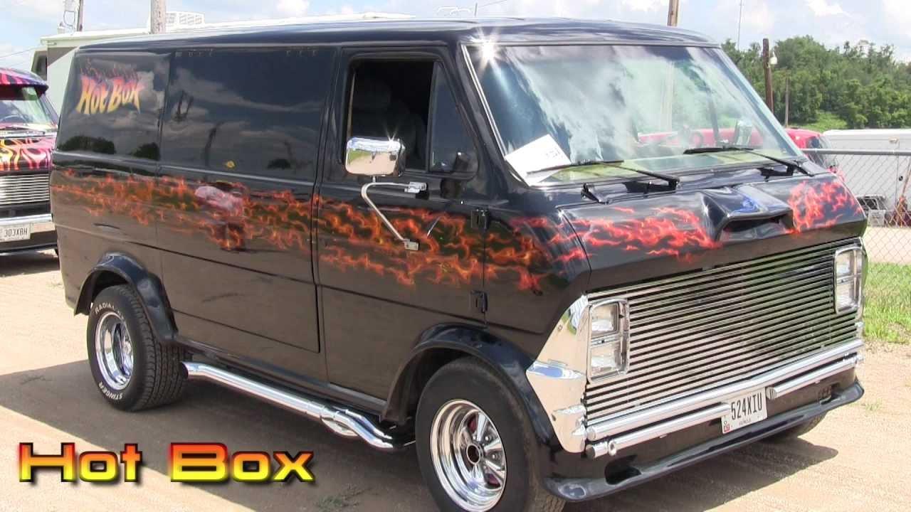 Hot Box 1974 Ford Econoline Van Youtube
