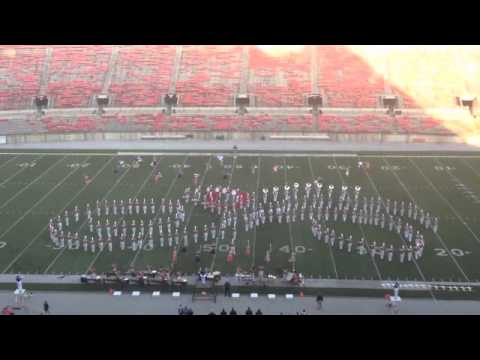 Marysville High School Marching Band 10-15-2011