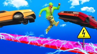 EXTREME MILE HIGH ELECTRIC DEATHRUN! (GTA 5 Funny Moments)
