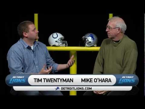 Tim and Mike Preview the Lions vs. Colts matchup