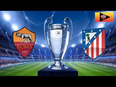 Roma VS Atletico Madrid 0-0 - Super Alisson