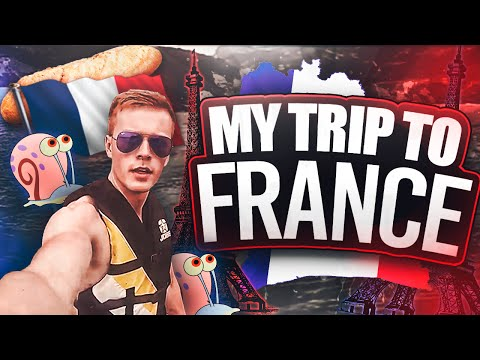 MY TRIP TO FRANCE!!