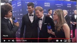 Laureus World Sports Awards 2019 Red Carpet Live