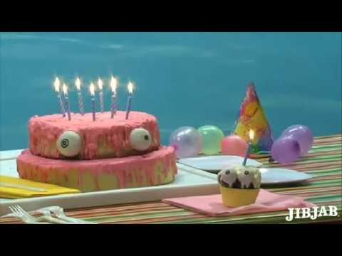 Birthday Card And Cake