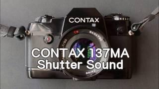 CONTAX コンタックス 137MA シャッター・ワインダ―動作