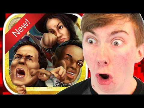 CELEBRITY STREET FIGHT (ò_ó) - BATTLE AGAINST YOUR FAVORITE CELEBRITIES (iPhone Gameplay Video)