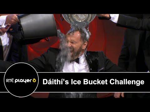 Dáithí Ó Sé's Ice Bucket challenge at Rose of Tralee 2014