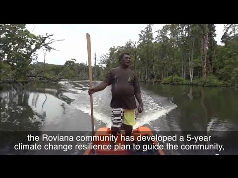 Remote communities in Solomon Islands tackle climate change