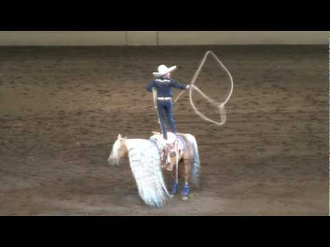 Tomas Garcilazo - Charro Tradicional - Night of the Horse 2011