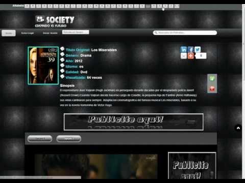 Template Society para Moviescript crea tu web de peliculas online