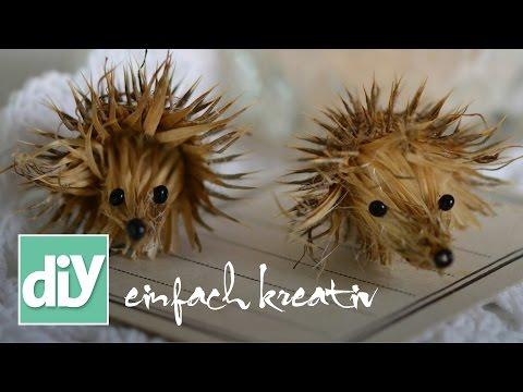 Waldtiere aus Naturmaterialien | DIY einfach kreativ