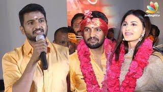 Santhanam – Amyra Dastur Next Movie : Odi Odi Uzhaikkanum Launch Pooja | Speech