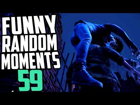 Dead by Daylight funny random moments montage 59
