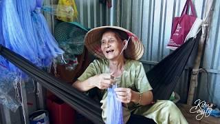 Thương Cụ Bà Mù Đan Lưới Mót Từng Đồng Sống Qua Ngày