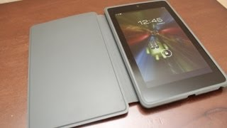 Official Nexus 7 Travel Cover Unboxing