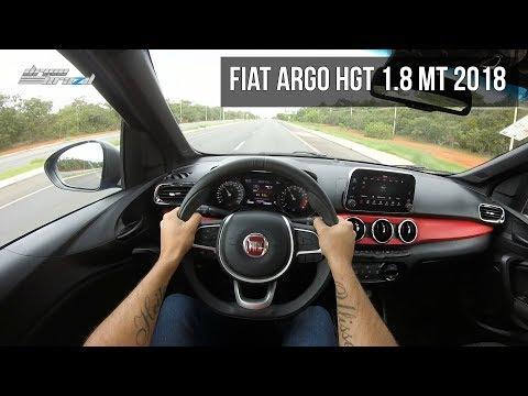 Fiat Argo HGT 2018 - POV