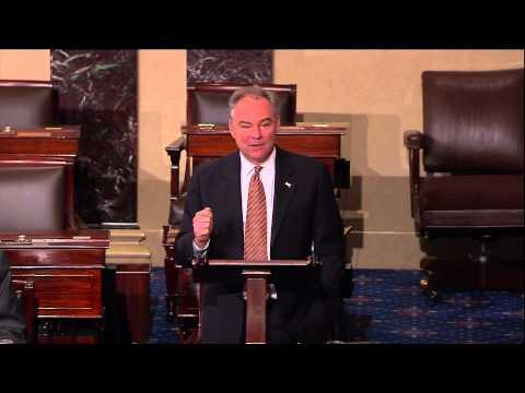 Sen. Tim Kaine Questions if U.S. Senate