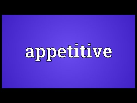 Header of appetitive
