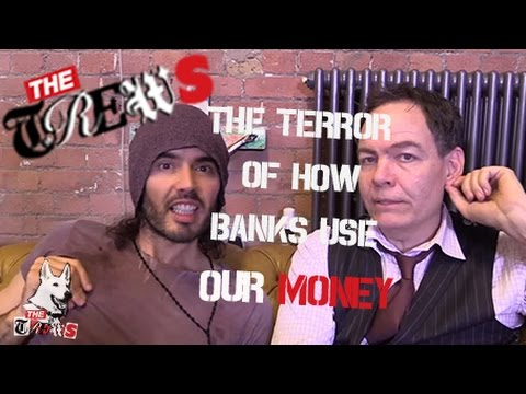 The Terror Of How Banks Use Our Money: Russell Brand The Trews (E216)