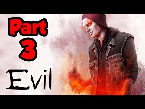 Infamous Second Son EVIL Walkthrough Part 3 – CRIMINAL MAN – Gameplay Playthrough (PS4 1080p HD)
