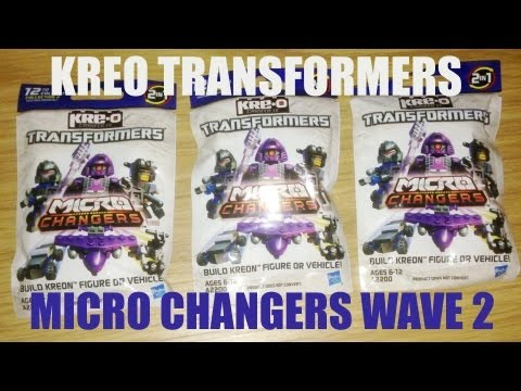 Blind Bag Mystery 042 Kre-O Transformers Micro Changers Wave 2, Hasbro