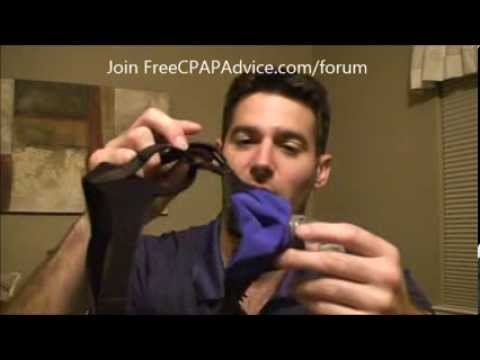 Circadiance SleepWeaver Anew Cloth Full Face Mask for CPAP Bilevel Treatment   FreeCPAPAdvice.com